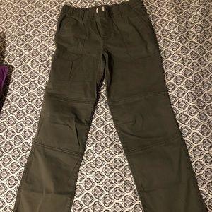 cute army green pants